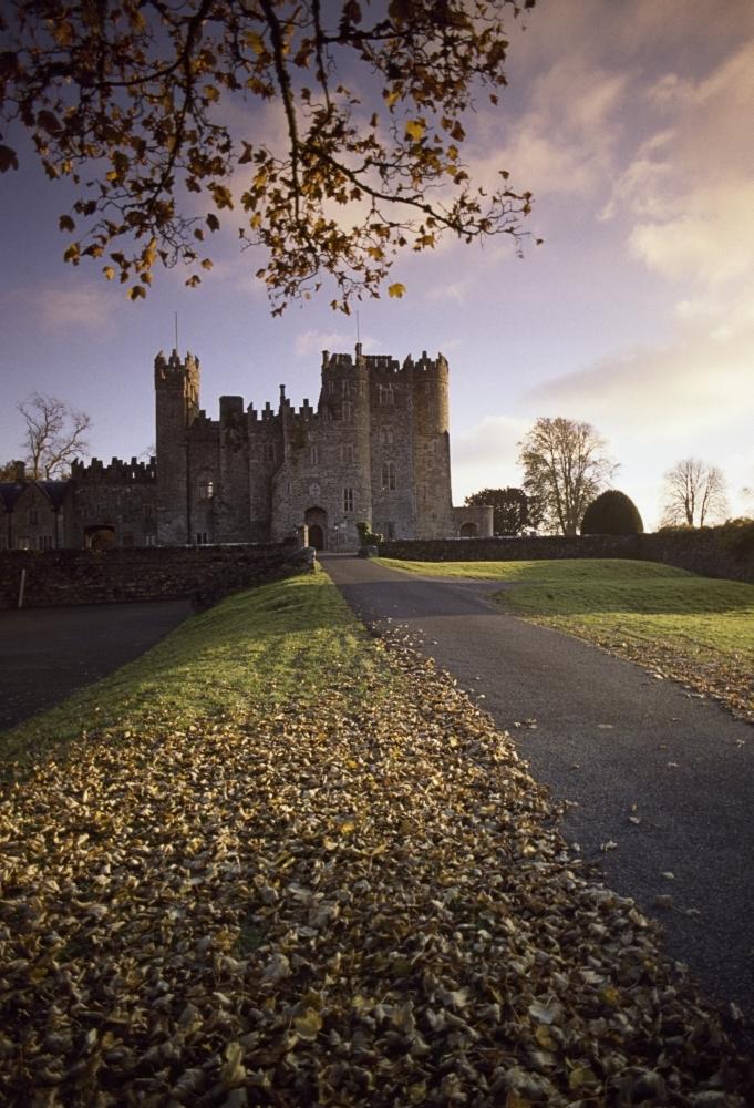 Kilkea castle co kildare ireland road leading to a 12th for Kildare castle