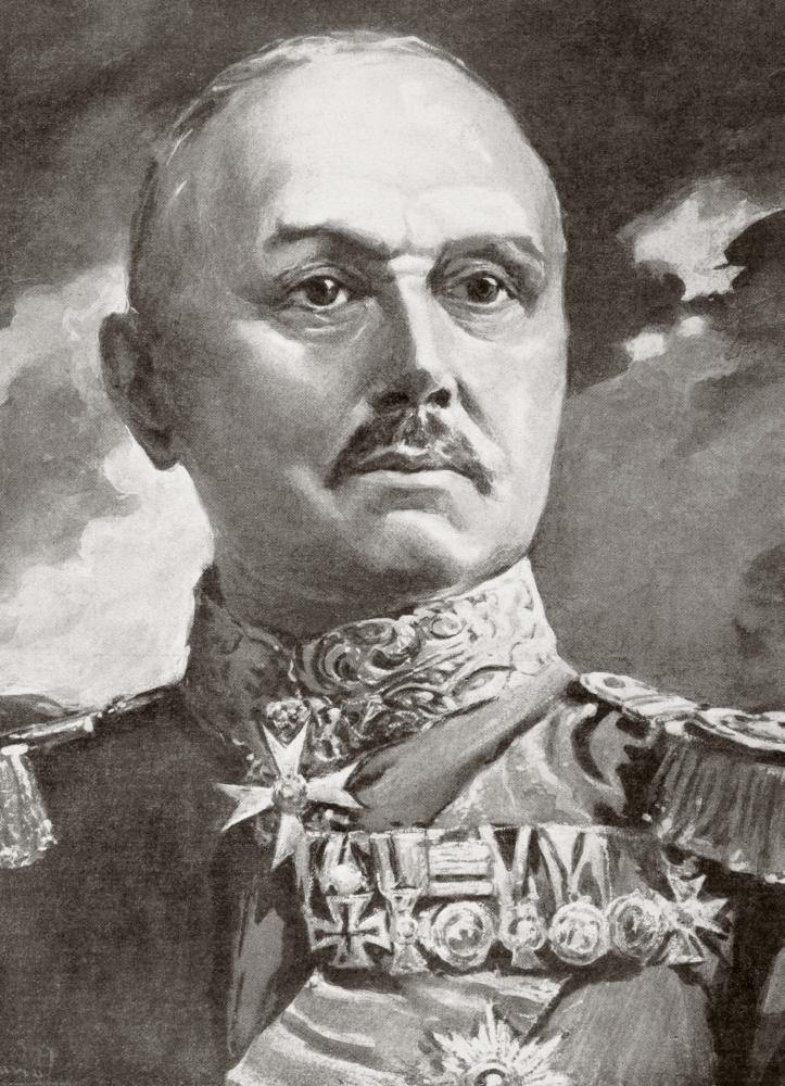 Alexander heinrich rudolph von kluck 1846 1934 german for Alexander heinrich