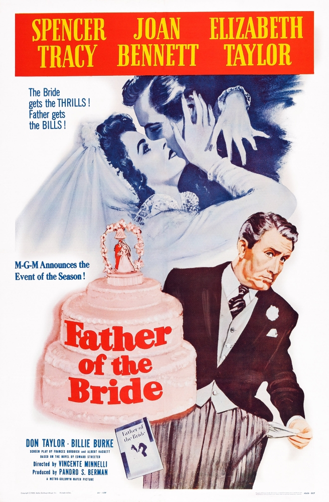 Father Of The Bride U Movie Poster Masterprint 11 X 17