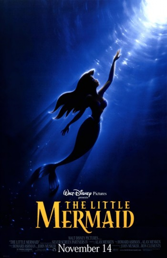 Pop culture graphics The Little Mermaid Movie Poster (11 x 17) at Sears.com