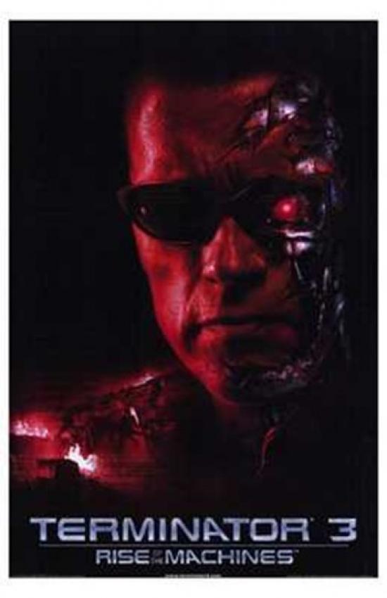 TERMINATOR 3 RISE OF THE MACHINES Movie POSTER 11x17 C Arnold Schwarzenegger