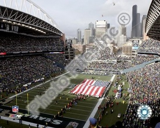 Buy Wild Sales Games - Qwest Field (Seahawks) 2007 NFL Wild Card Game Sports Photo (10 x 8)