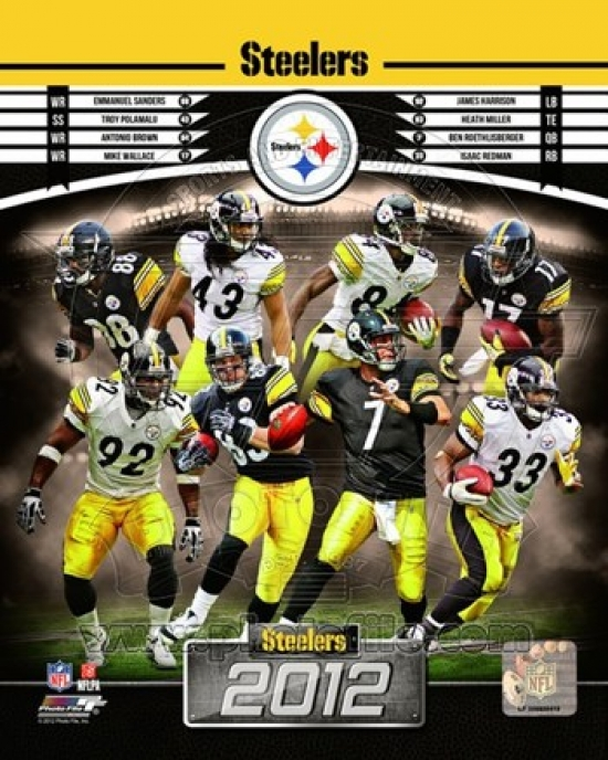 PhotoFile Pittsburgh Steelers 2012 Team Composite Sports Photo (8 x 10) at Sears.com