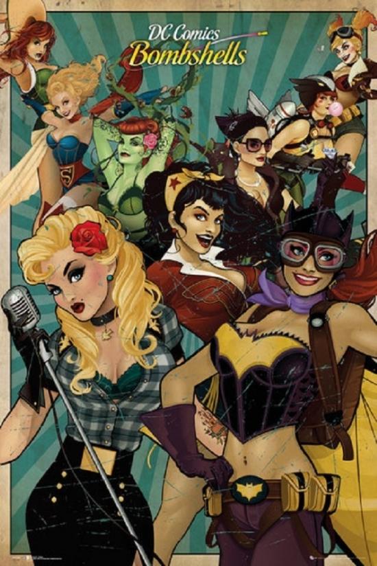 DC Comics Bombshells #21 DC Comics 1st Print EXCELSIOR BIN